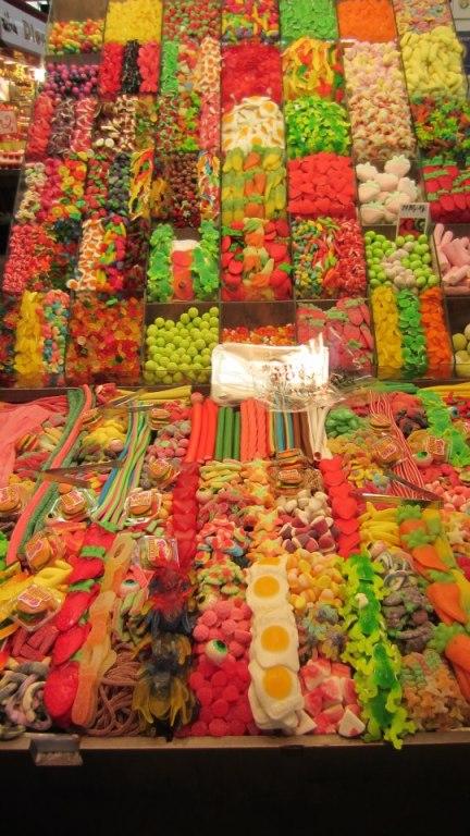 Candy at La Boqueria: Get at me